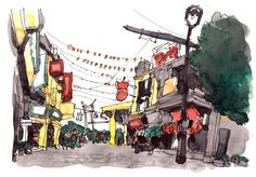 All my sketches from Hong Kong & Macau 2015 trip