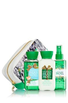 Winter Friends Gift Set Vanilla Bean Noel from Bath & Body Works. Saved to Bath & Body Works. Vanilla Perfume, Pink Perfume, Best Home Fragrance, Home Fragrances, Bath N Body Works, Bath And Body, Christmas Scents, Bath Girls, Smell Good