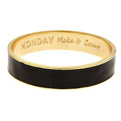 Day Of The Week Bangle | Fornash