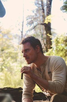 How I imagine Charlie looks in THE ALLIANCE. Fassbender in Slow West