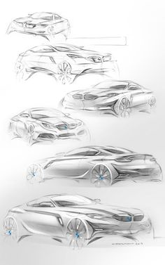 BMW série 5 by Florian QUERTINMONT Bmw Design, Car Design Sketch, Bike Sketch, Car Sketch, Bmw Concept Car, Industrial Design Sketch, Bmw 5 Series, Motorcycle Design, Car Drawings
