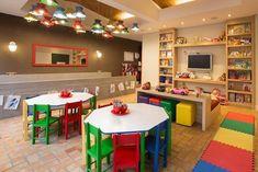 How to set up a simple, beautiful and cheap kids space - Muito Chic - Einrichtungsstil Infant Room Daycare, Daycare Rooms, Home Daycare, Daycare Ideas, Preschool Classroom Layout, Preschool Decor, Kids Decor, Kindergarten Projects, Kindergarten Design