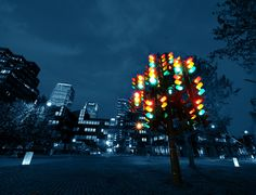 This Traffic Lights Tree Trafalgar Way London Creative Christmas Trees, Christmas Tree Decorations, Traditional Christmas Tree, Things To Do In London, Traffic Light, Tree Lighting, Public Art, Christmas Traditions, Oeuvre D'art