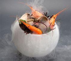 Ice Bowl FREEZER - served frozen