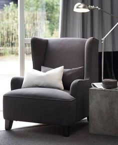 love this grey chair