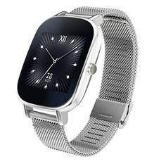 ASUS ZenWatch 2 Android Wear Smartwatch  145 Silver case with Silver Metal band ** Check this awesome product by going to the link at the image.