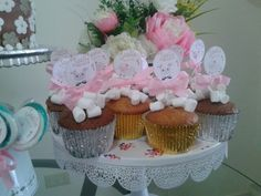Cupcake mesa de dulce