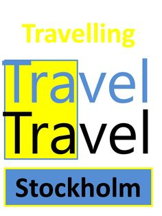 Travelling Travel in Stockholm