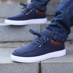 Men's #Casual Canvas Shoes