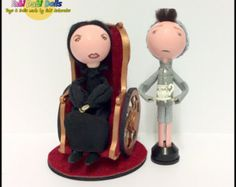 the wicked witch of the east - wicked peg dolls from fabi dabi dolls - nessa rose and butler boq