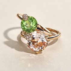 The Peekaboo Collection is synonymous with pure joie de vivre and vibrancy. The fresh, delicate peridot gemstones set in rose gold will make any self-confident, modern woman shine. Get inspired by the collection here. Buy Rings, 18k Rose Gold, The Fresh, Fine Jewelry, Jewellery, Peridot, Heart Ring, Delicate, Pure Products
