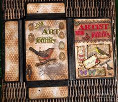 Art journaling and card making creative blog.