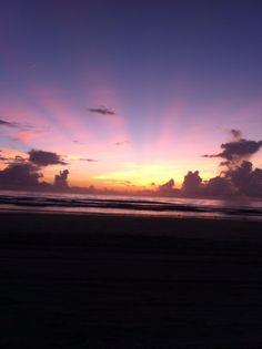 Waiting on the sunrise.