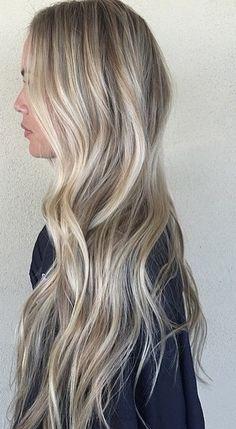 long blonde highlights blend