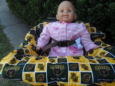Baylor Bears baby shopping cart cover/ high by littlestitches59, $40.00