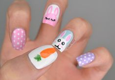 NAILS | What Does a Bunny Like to Eat?