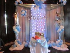 www.partyfiestadecor.com Frozen Balloon Decorations, Frozen Balloons, Cake, Tela, Globe Decor, Kuchen, Torte, Cookies, Cheeseburger Paradise Pie
