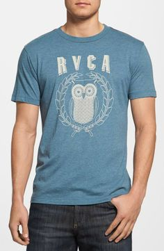 Nordstrom  RVCA Owl Slim Fit T-Shirt