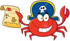 Find Pirate Crab Holding Treasure Map Raster stock images in HD and millions of other royalty-free stock photos, illustrations and vectors in the Shutterstock collection. Pirate Treasure, Treasure Maps, Pirate Birthday, Disney Characters, Illustration, Poster, Animals, Vectors, Comic Book