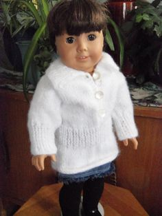 Tunic for American Girl Dolls by Janet Longaphie This pattern is available as a free Ravelry download