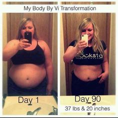 Body by vi 90 day challenge!