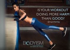 Is your workout doing more harm than good? Check this article out from Tegan Haining and Get The Glosss http://www.bodyism.com/workout-harm-good/