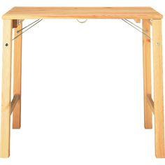 muji folding table