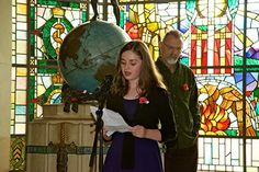 Lydia Whyte, 2013 winner of the 12 - 17 years category, reads her poem.
