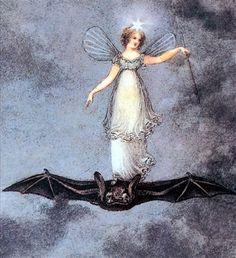ida rentoul outhwaite | Things bat winged; - Ida Rentoul Outhwaite;