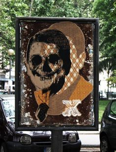 ORTICANOODLES http://www.widewalls.ch/artist/orticanoodles/ #contemporary #art #streetart #urbanart #stencil #graffiti