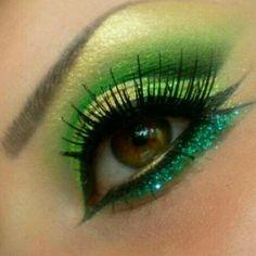 Intense Green Shadow