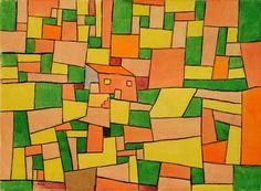 Afbeelding Paul Klee - Landhaus Thomas R.,