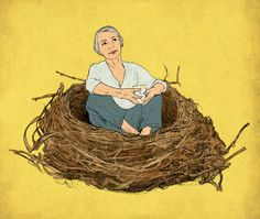 Favorite Empty Nest Essays: Eight authors describe their pride and heartbreak on the day they dropped off their teens at college. Empty Nest Quotes, Empty Nest Syndrome, Colleges For Psychology, Parenting Teens, Getting Old, Ny Times, Authors, York, Articles