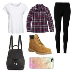"""""""Untitled #304"""" by juleenm ❤ liked on Polyvore featuring Cheap Monday, Patagonia, Max Studio, Timberland, Casetify and rag & bone"""