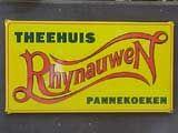 Logo Theehuis Rhijnauwen. Ook voor zakelijke ontmoetingen.