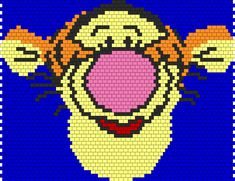 Tigger bead pattern (I'm thinking potential Patchwork Blanket)