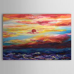 """Hand-painted Landscape Oil Painting with Stretched Frame 20"""" x 24"""" – USD $ 79.99"""