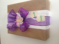 DIY Baby gift wrap