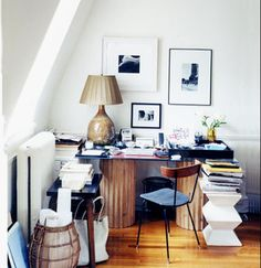 Interior designer Michael Bargo's 475 sq ft studio apartment on the upper east side of Manhattan, NYC.