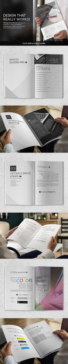 Brand Manual v.1 by Typography Prime on @creativemarket