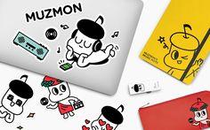 다음 @Behance 프로젝트 확인: \u201cMUZMON Character Design / Character, Illustration\u201d https://www.behance.net/gallery/56165447/MUZMON-Character-Design-Character-Illustration