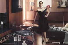 """""""It Only Looks Like the Real Thing."""" Judy Garland- Armstrong Laminate Ad"""