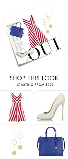 """""""Untitled #190"""" by melinda-lancaster on Polyvore featuring Post-It, Oui, RED Valentino, Dsquared2, Cloverpost and Michael Kors"""