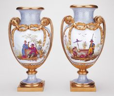 Vase Duplessis with Chinese scenes, Sèvres Manufactory. Bought by Queen Marie-Antoinette, December 1779 for 2400 livres. Purchased by George IV in 1817. © English Royal Collection, London.