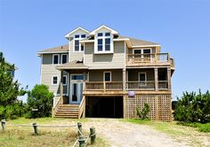 Twiddy Outer Banks Vacation Home - LEGASEA - 4x4 - Oceanfront - 6 Bedrooms OMG, BEST VIEW EVER! AVAIL 8/29-9/5 $3425