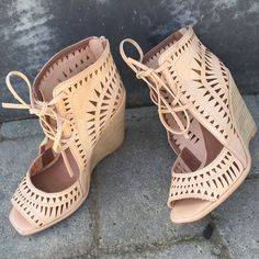 Laser-cut wedge perfection! -PUNCH