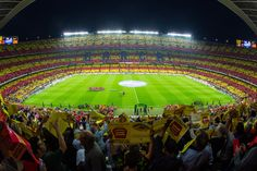 Camp Nou. FC Barcelona stadium  #Barcelona. The third biggest stadium in the world. Must see in Barcelona!! Get the tickets online for all football games and stadium visits.
