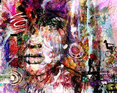 "Saatchi Online Artist: yossi kotler; Digital 2013 New Media ""forest of illusions"""