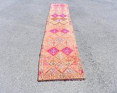 Turkish rug Oushak rug Vintage rug Turkey rug by turkishrugstar Bohemian Rug, Boho Decor, Rustic Decor, Rustic Rugs, Natural Rug, Pink Rug, Tribal Rug, Rugs In Living Room, Handmade Rugs