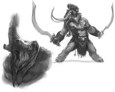 Elephantaur Concept - Pictures & Characters Art - God of War: Ascension